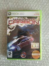 NEED FOR SPEED CARBON XBOX 360 NEW PAL IT NUEVO RARE MICROSOFT