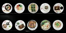 Japan 2020 Delicious Nippon Food 84Y Complete Used Set of 10 Sc# 4367 a-j