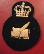 Canadian Armed Forces FINANCIAL CLERK qualification trade badge level 3 black