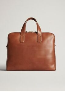 Alfred Dunhill - Duke Double Document Case Tan BNWT RRP £2695 STUNNING