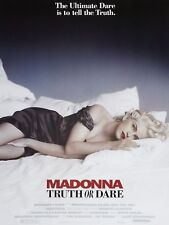 "Madonna Truth or Dare 16"" x 12"" Reproduction promo Film Poster Photo"