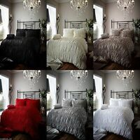 Luxury Beauford Duvet Cover Bedding Quilt Cover With Pillow Case Bed Set 4 Sizes