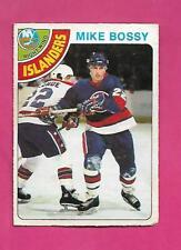 1978-79 OPC # 115 ISLANDERS MIKE BOSSY  ROOKIE VG CARD (INV# D1771)