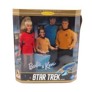 Mattel 1996 Barbie and Ken Star Trek Set No15006 In Original Packaging NRFB