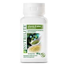 Amway NUTRILITE Vitamin B Plus B1 B2 B3-Niacin B6 Folsäure B12 D Biotin