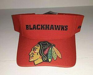Chicago Blackhawks NHL Reebok Adjustable Bonded Red Visor