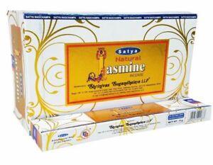 Satya 'Natural' Jasmine Incense Sticks - Joss / Incence Sticks (O97)