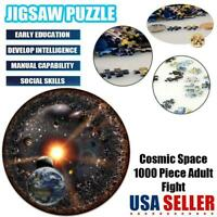 Space Puzzle 1000 Piece Jigsaw Puzzle Kids Adult Planets in Space Puzzle - US