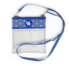 KENTUCKY WILDCATS CLEAR GAME DAY CROSSBODY BAG STADIUM APPROVED PURSE STRAP