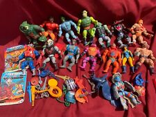 VINTAGE 1980?s MOTU MASTERS OF THE UNIVERSE LOT -  HE-MAN  - LOOK CLOSE