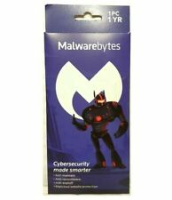 Malwarebytes 3.0 Premium Anti-malware/Anti-ransomware 1 PC 1 Year Mac / Windows