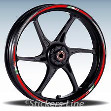 Adesivi ruote moto strisce cerchi Ducati MULTISTRADA 1200 ENDURO (19+17 P.) R3