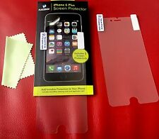 Protectors Screen X 2 For IPhone 6 Plus +Cleaning Cloth, Dings & Scratch Free