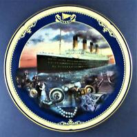 MAIDEN VOYAGE Plate Titanic: Queen of the Ocean #1 James Griffin Bradford Exch