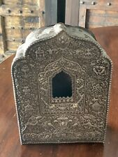 New listing Very Old, Large Tibetan Ghau Shrine Box - Lovely Patina, Exquisite Metalwork