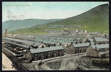 1909 Village Panorama Ynyshir Rhondda Chromo Postcard 110 Ynyshir Road C500