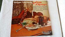 Vinyle 33 tours 25 cm Georges CANTOURNET Folklore d'Auvergne