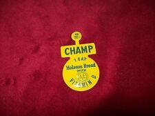 Vintage Holsum Bread Champ Pin, Vitamin D, Green Duck, NOS.