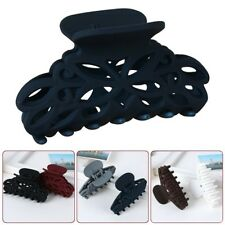 1 Pc Large Plastic Hair Claw Grip Folding Clips Clamps 8cm for DIY Craft