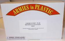 Armies in Plastic 5693 - American Rev.War - British Gun Battery       1:32 Scale