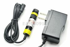 Focusable 780nm 100MW 5V IR Infrared Dot Laser Diode Module w/AC Adapter 16x68mm