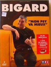 2DVD BIGARD - MON PSY VA MIEUX - 2H DE SPECTACLE + BONUS 7 SKETCHES INEDITS NEUF