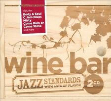 NEW Wine Bar Jazz Standards With Lots of Flavor!  2 CD set NEW