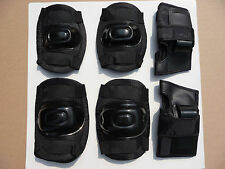 Skateboard BMX Skate Pads Rollerblade Bike MTB Elbow Wrist Knee Pad Set Junior