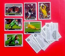PANINI EC EURO 2012 - 6 Coca-Cola extrastickers NEUER (for German album)