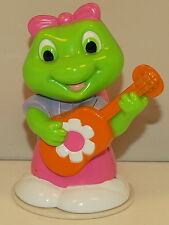 """3"""" Lily Female Girl Green & Pink Frog Toad LeapFrog Leap Frog Action Figure"""