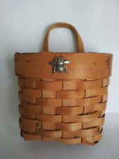 New listing Hallmark Vintage Marjolein Bastin Small Bee Basket