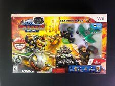 Skylanders SuperChargers Racing Starter Pack Wii Hammer Slam Bowser Amiibo NEW