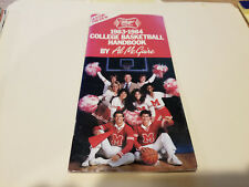 Miller High Life 1983/84 College Basketball Handbook with Televised Games