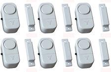 8 x Fensteralarm Türalarm - Alarm Fenster Tür Alarmanlage Sirene Einbruchschutz