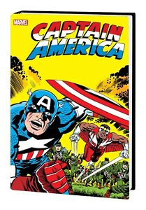 CAPTAIN AMERICA BY JACK KIRBY OMNIBUS HC NEW PTG DM VARIANT 2021 FALCON