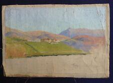 Tableau XIXe Armand GUILLAUMIN ? Etude de paysage Huile sur toile à identifier