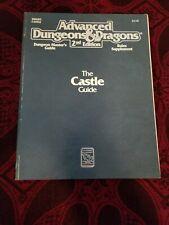 AD&D The Castle Guide - TSR