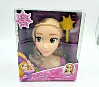 Disney Princess Rapunzel from Tangled Styling Mini Head Doll Brush Included NIB