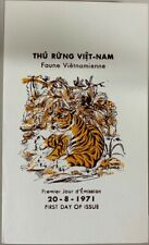 1971 Vietnam #396-397 Saigon First Day Cover/Folder, Vietnamese Wildlife *a