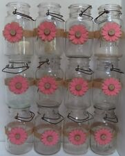 12 Mason Jar Coral Rustic Country Shower Wedding Party Shower Wraps A8