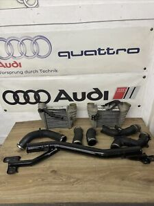 Audi TT Mk1 98-06 8N 1.8T 225 Twin Front intercoolers Map Sensor Boost Hoses Set