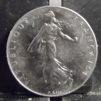 CIRCULATED 1978 1 FRANC FRENCH COIN (122418)R1.....FREE DOMESTIC SHIPPING!!!!