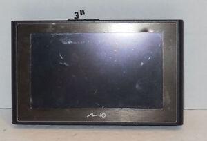 "Mio Moov 500 Car Portable GPS Navigator System 4.7""  Parts Or Repair"
