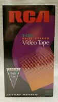 NIB SEALED RCA T-120 VHS BLANK VIDEO TAPES LOT OF 4 HI-FI STEREO PREMIUM 6 HOURS