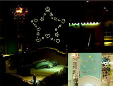 DIY Glow In The Dark Loving Hearts Stars Luminous Home Decor Wall Sticker