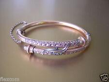 Antique Bracelet Avec 5 Perles en Forme de Graines 13,3 G / Dimensions Internes: