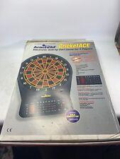 Arachnid CricketACE 525-ara Electronic Dart Board With multiple games NEW IN BOX
