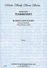 Tchaikovsky: Romeo & Juliet Fantasy Overture (3rd version): Study score