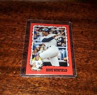 DAVE WINFIELD 2020 TOPPS #TBT THROWBACK PRINT RUN ONLY #/666 #71 NY YANKEES #HOF