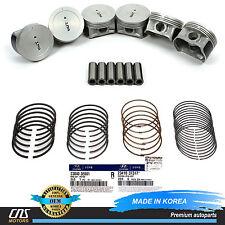 GENUINE Engine Piston w/ Ring Set for 1999-2006 Hyundai Kia 2.5L 2.7L 2341037317